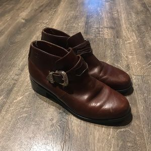 Brown Ariat Booties
